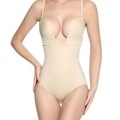 plunge neckline shaper Bodysuit