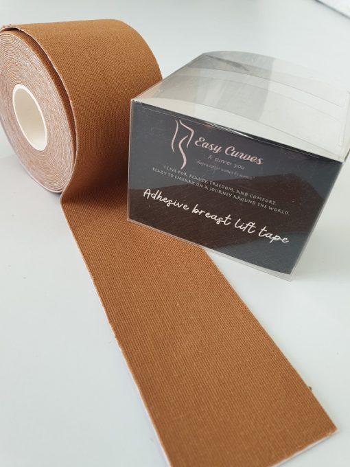 EasyCurves Breast Tape Boob Tape Caramel Tan