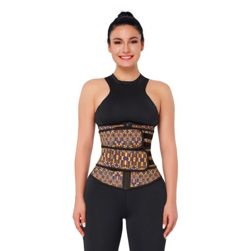 Easy Curves Double strap belt printed Front